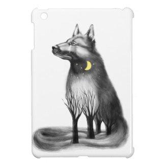 Dog - mascot, graphics. iPad mini covers