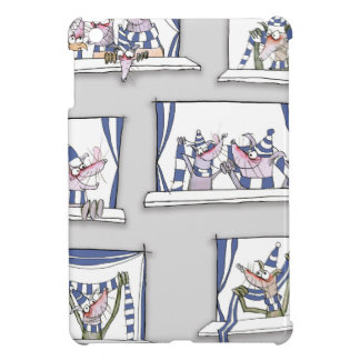 dog match day blues case for the iPad mini