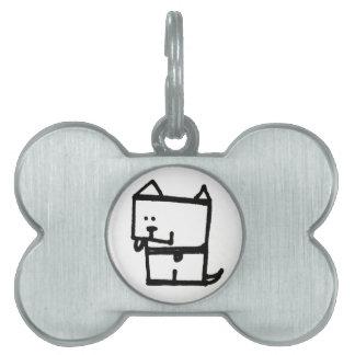Dog Meepple Pet Tag