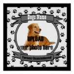 Dog Memorial Forever Remembered Poster
