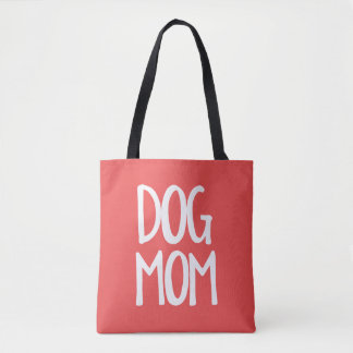 Dog Mom All-Over-Print Medium Tote Bag