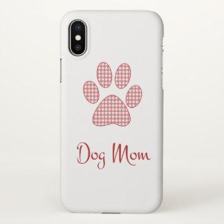 Dog Mom iPhone X Case
