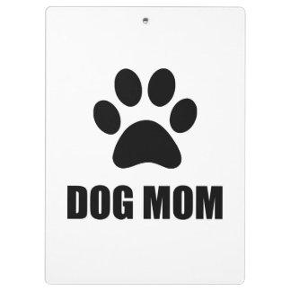 Dog Mom Paw Clipboards