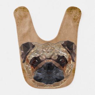Dog Mosaic Bib