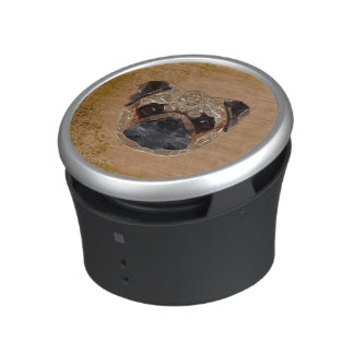 Dog Mosaic Bluetooth Speaker