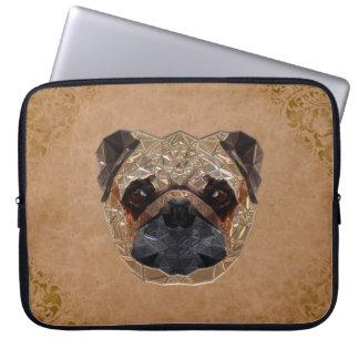 Dog Mosaic Laptop Sleeve
