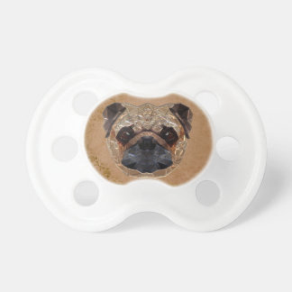 Dog Mosaic Pacifier