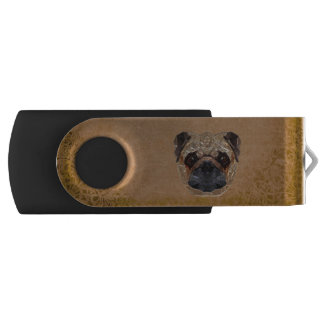 Dog Mosaic USB Flash Drive