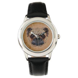 Dog Mosaic Watch