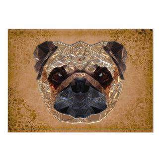Dog Mozaic Card