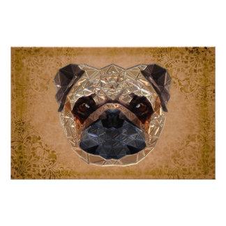 Dog Mozaic Custom Stationery