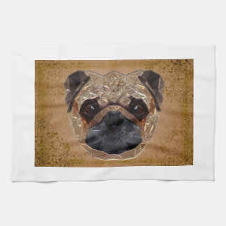Dog Mozaic Kitchen Towel