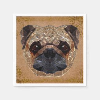 Dog Mozaic Paper Napkins