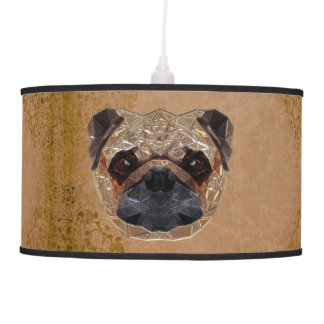 Dog Mozaic Pendant Lamp