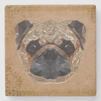 Dog Mozaic Stone Coaster