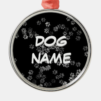 Dog Name Ornament