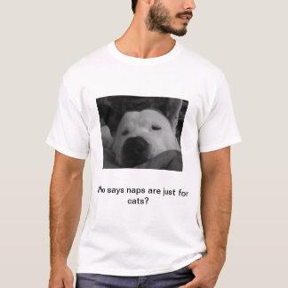 """Dog Naps"" Puppy Lovers T-Shirt"