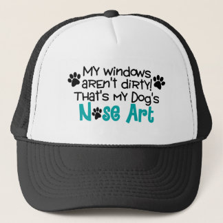 Dog Nose Art Trucker Hat