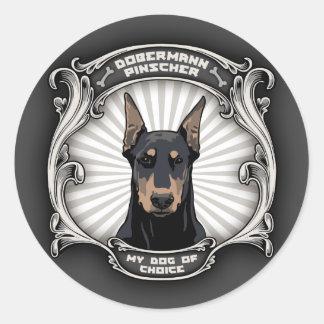 Dog of Choice Round Sticker
