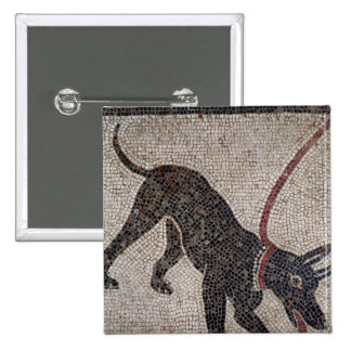 Dog on a leash, from Pompeii Pins