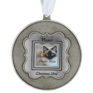 Dog or Cat Silver Perfect Memories Ornament