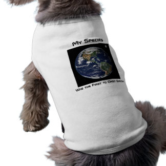 Dog Orbiter Dog Tee Shirt