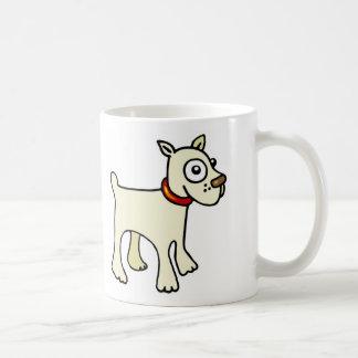 dog patch basic white mug