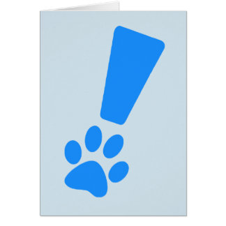Dog Paw Note Cards