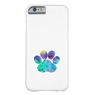 Dog Paw Print Barely There iPhone 6 Case