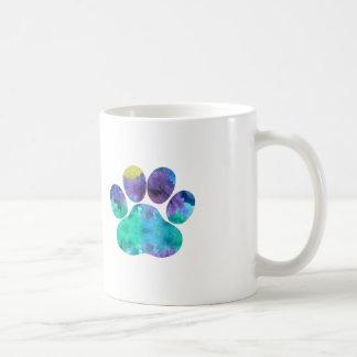 Dog Paw Print Coffee Mug