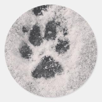 Dog Paw Print Sticker