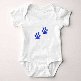 Dog Paw Prints Baby Bodysuit