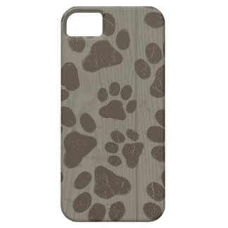 Dog Paw Prints Case For The iPhone 5