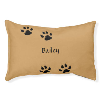 Dog Paw Prints Template Pet Bed