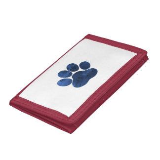 Dog Paw Tri-fold Wallet