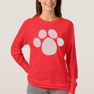 Dog Pawprint 2 T-Shirt