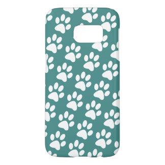 Dog Paws Animal Pattern Samsung Galaxy S7 Case