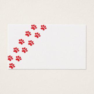 Dog Paws/Animal Paws Business Card