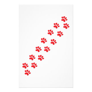 Dog Paws Stationery