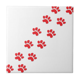 Dog Paws Tile