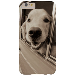 Dog Peeking Out a Car Window Barely There iPhone 6 Plus Case