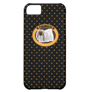 Dog pekingese iPhone 5C cases