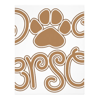 Dog Person Letterhead