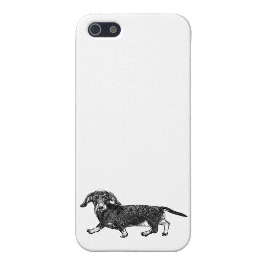 Dog Phone Case 5/5s Dachshund iPhone 5 Case