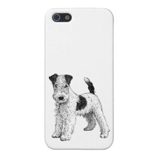 Dog Phone Case 5/5s Fox Terrier iPhone 5 Cases