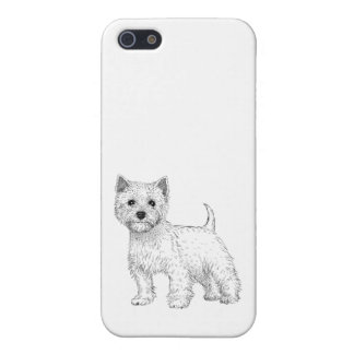 Dog Phone Case 5/5s West Highland Terrier iPhone 5/5S Covers