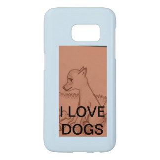 dog phone case for samsung galaxy s7