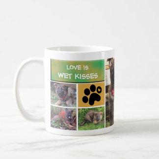 Dog Photo Collage Mug