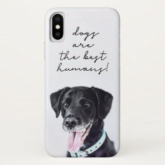 Dog Photo / Dog Quote V2 iPhone X Case