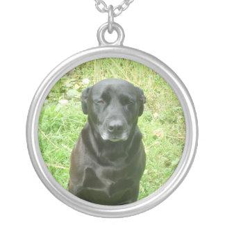 Dog photo necklace
